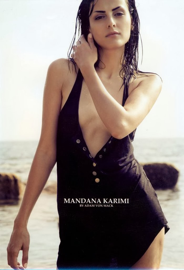 Mandana Karimi Hot Bikini Pictures