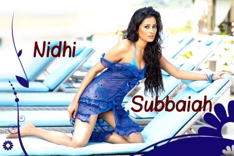 Nidhi Subbaiah In Bikini