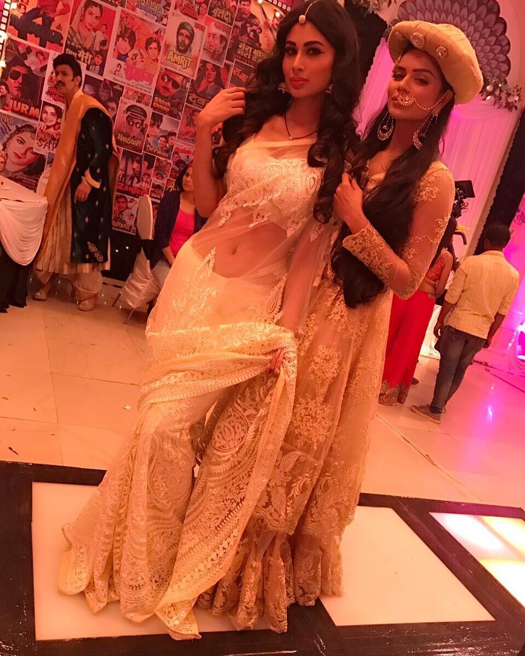 Mouni roy Somedays we wake up & feel like Queens