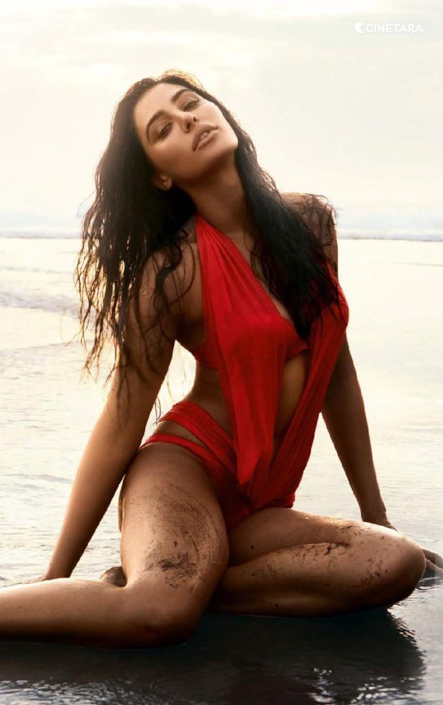 Nargis-Fakhri-Red-Bikini