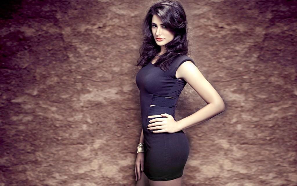 Nargis-Fakhri-in-Black-Top-HD-Wallpaper