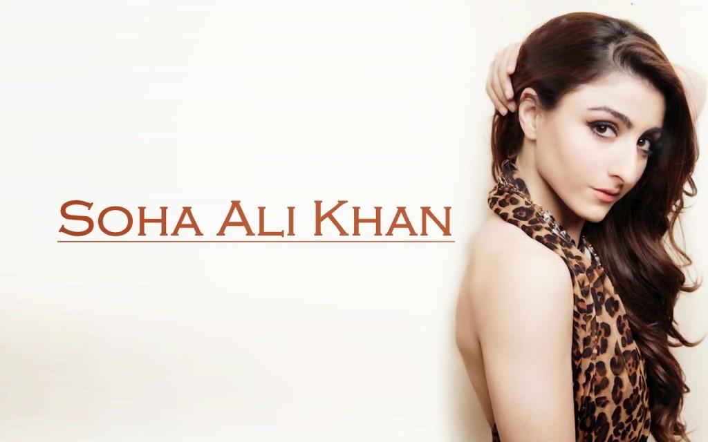 Soha+Ali+Khan sexy pose