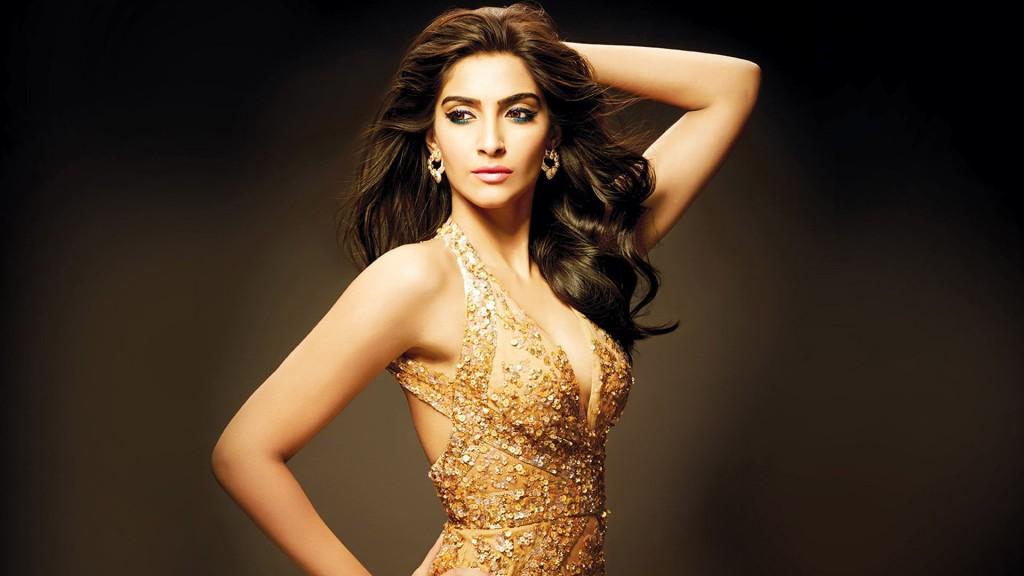 Sonam-Kapoor In See through dress