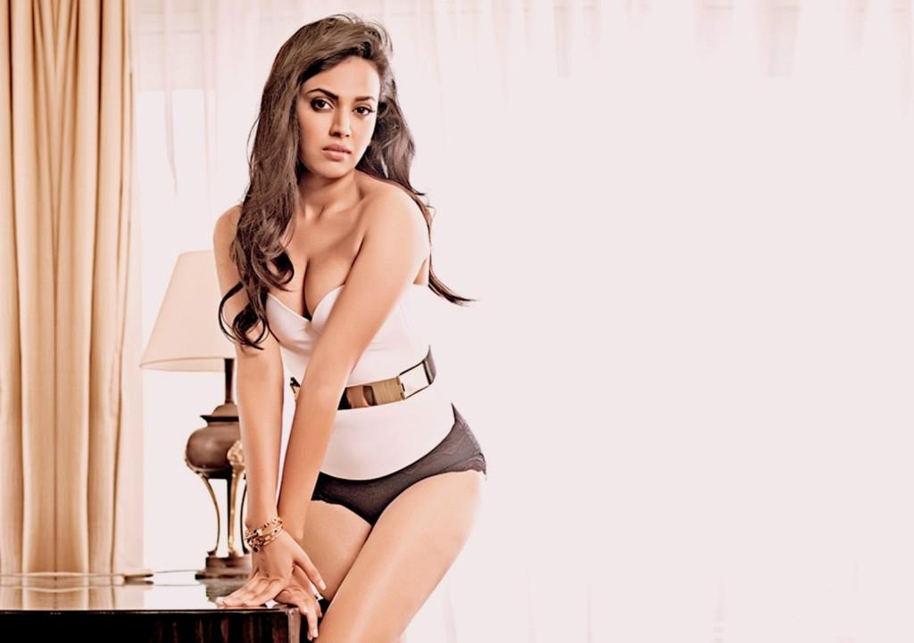 Swara-Bhaskar in lingerie