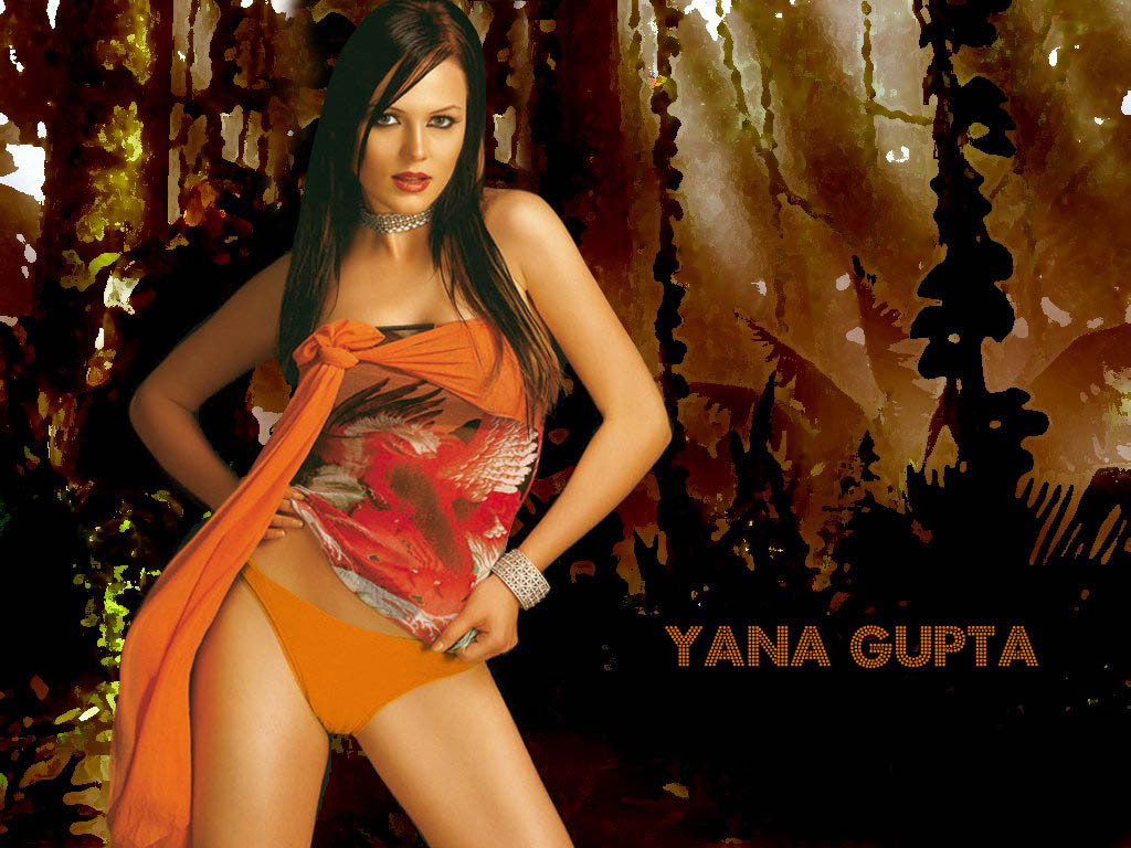 Yana Gupta sexy stills