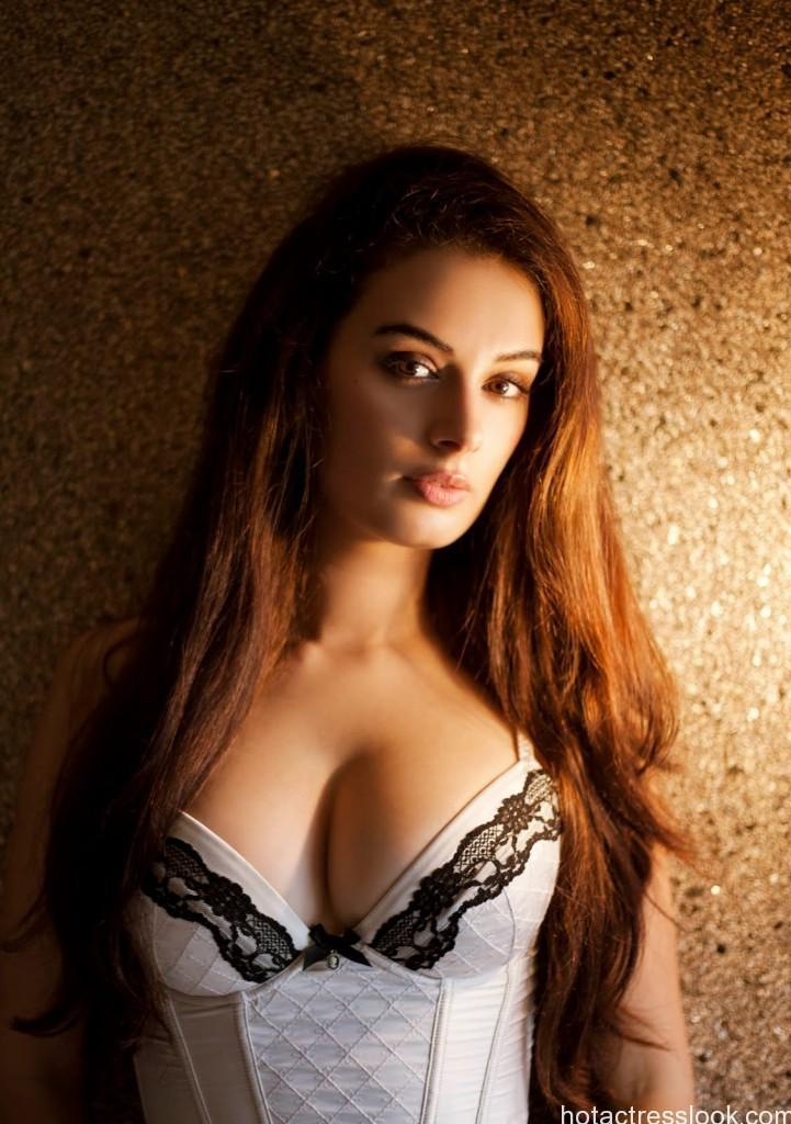 evelyn-sharma in lingerie