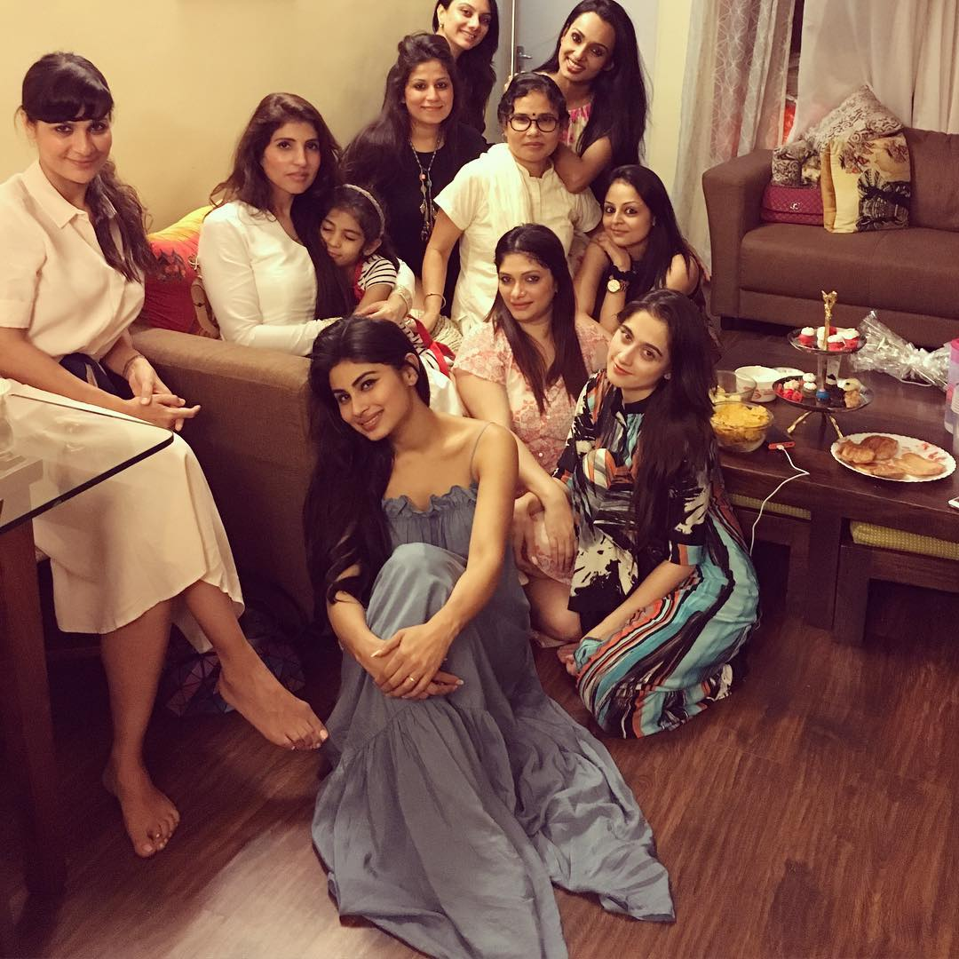 mouni roy with very sexy friends images