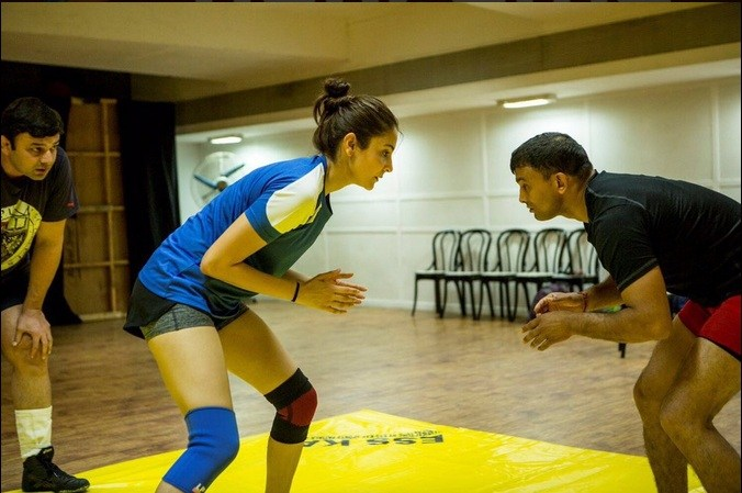 Anushka Sharma look in sultan