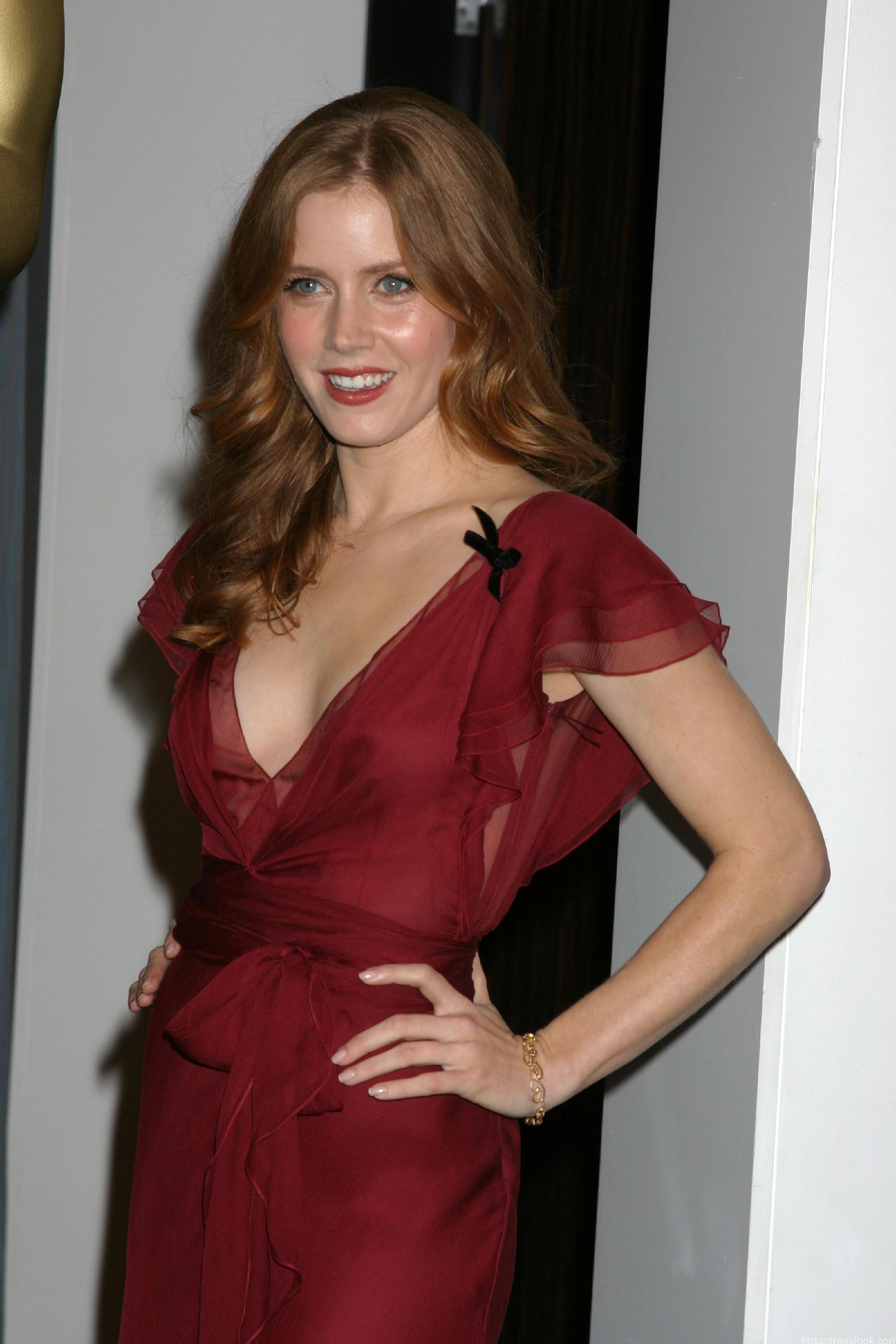 Amy Adams arrive at the Oscar Nominees Luncheon at the Beverly Hilton Hotel Beverly Hills, California - 13.02.06 Credit: Nikki Nelson / WENN