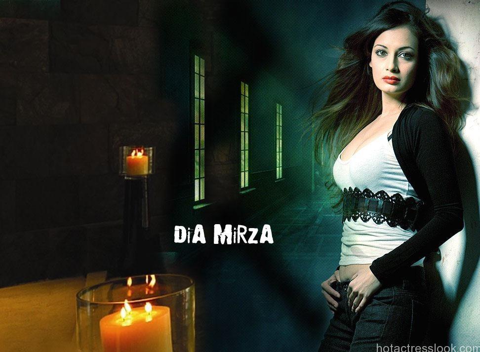 Dia Mirza Sexy Photos