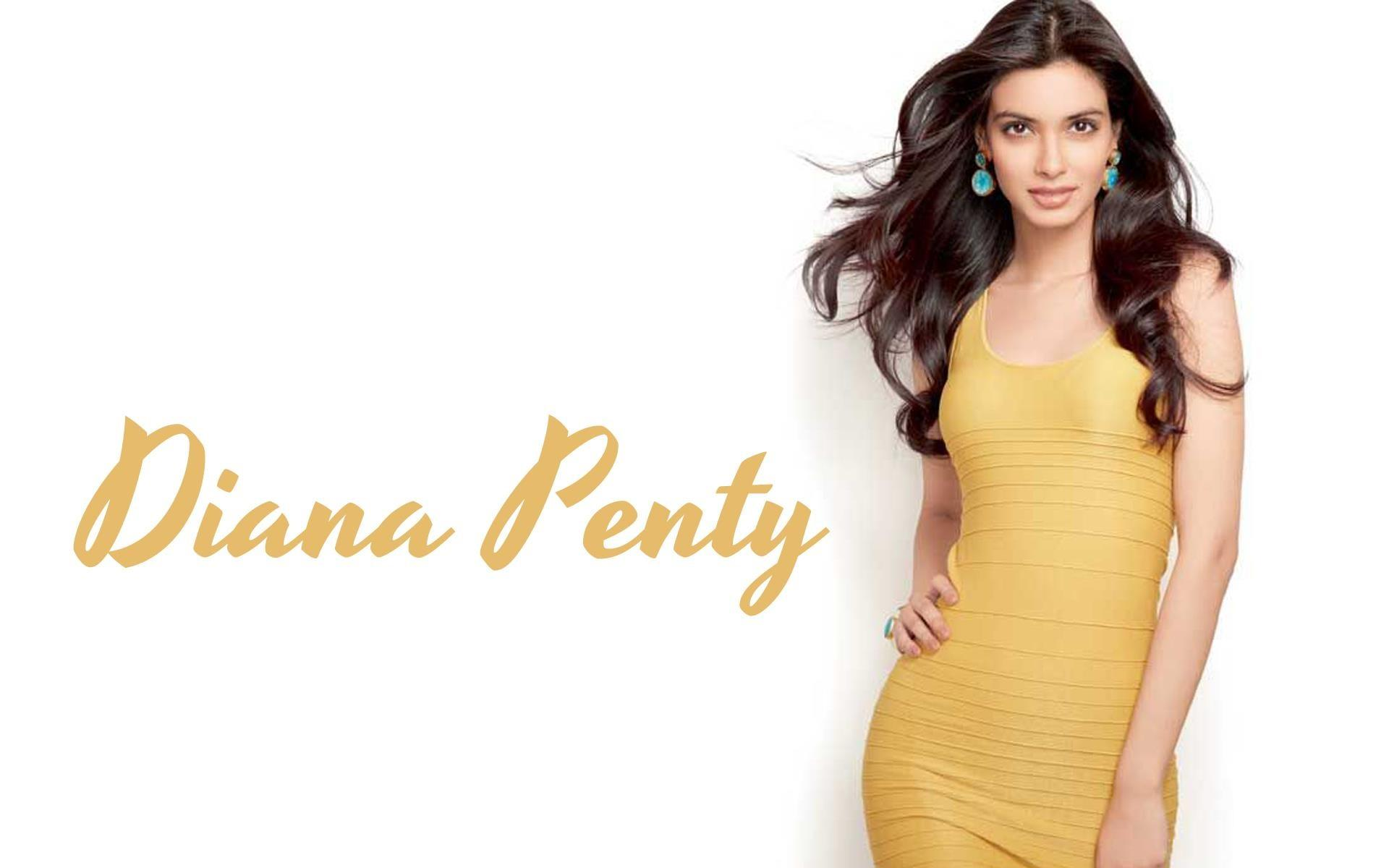 Diana Penty looks hot in yellow dress