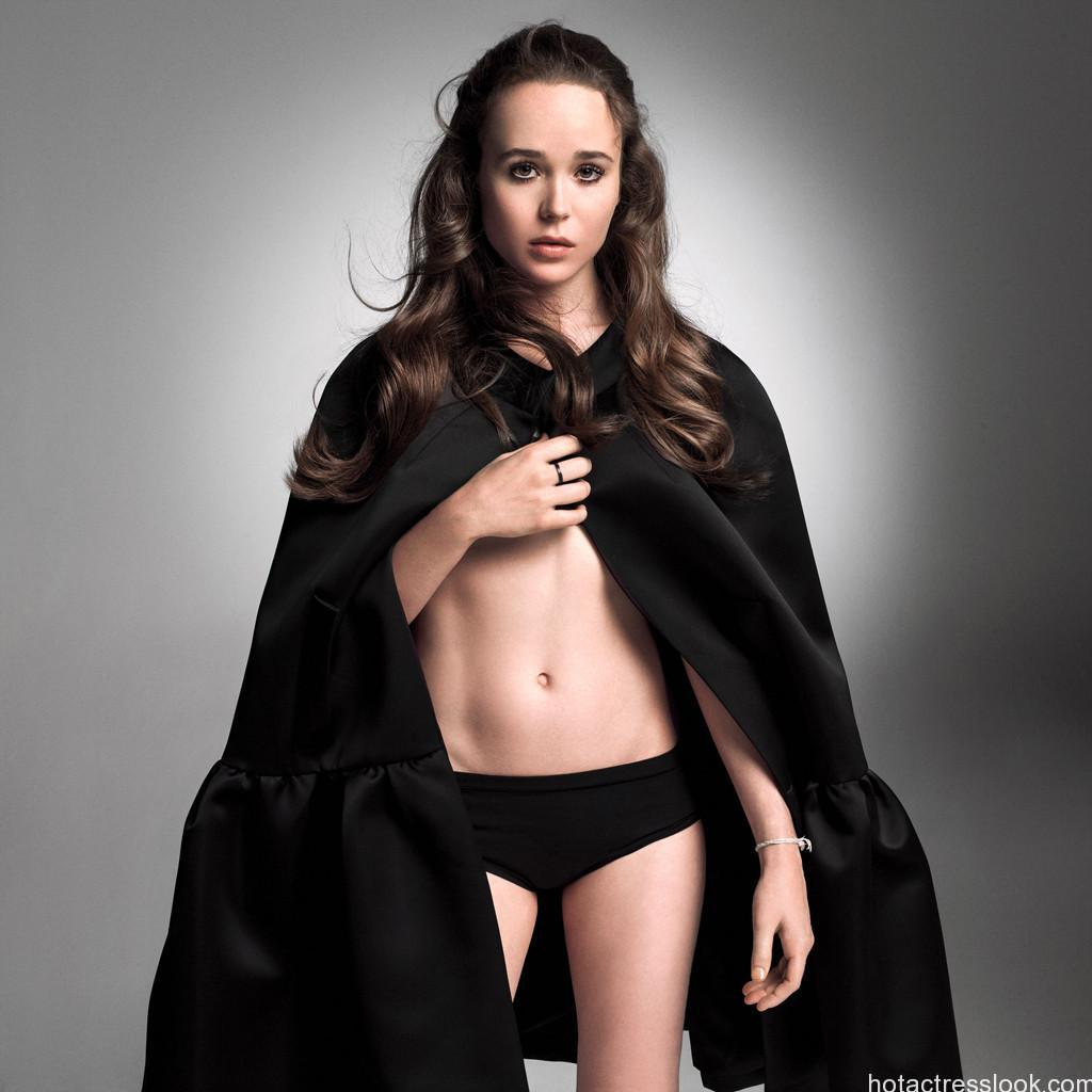 Ellen Page Showing sexy body