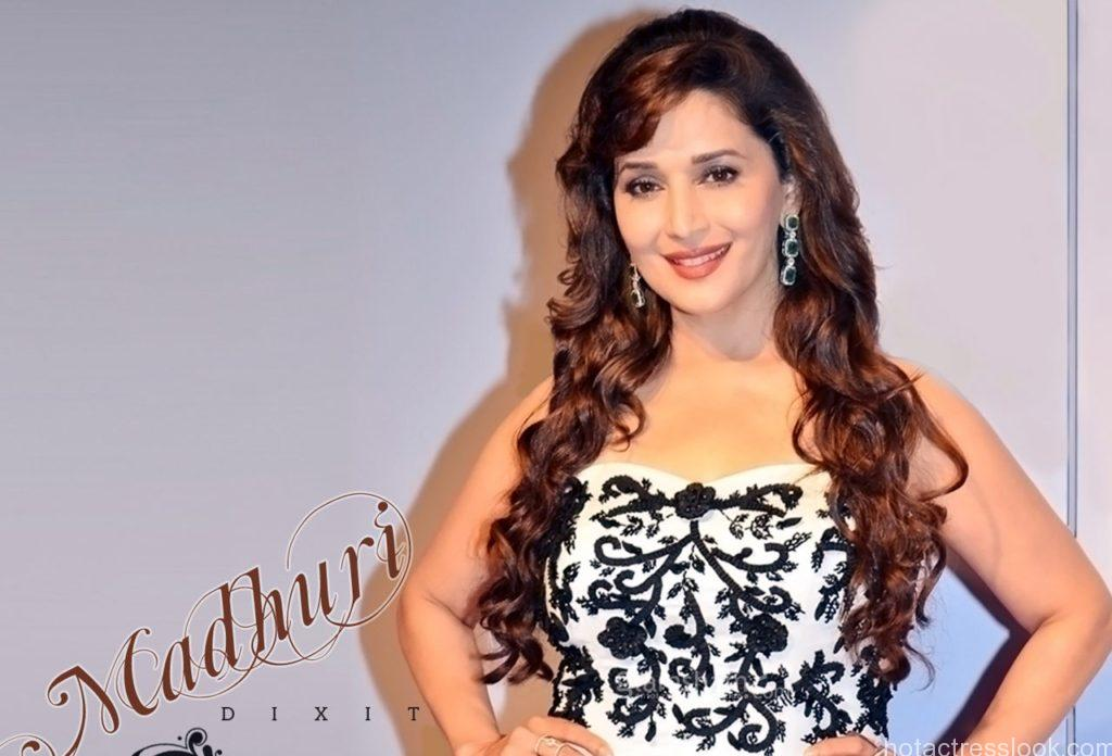 Madhuri Dixit Hot in Backless dress