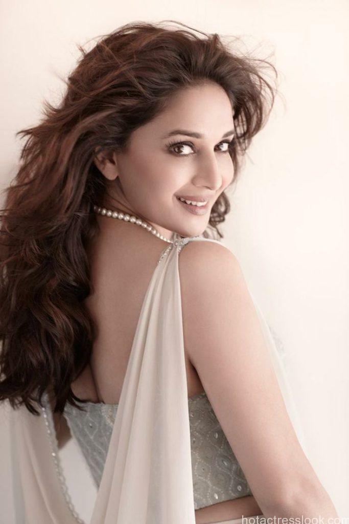 Madhuri Dixit Sexy backless dress