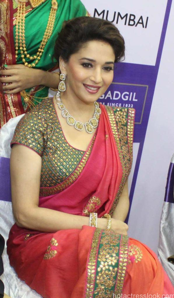 Madhuri Dixit hot in saree