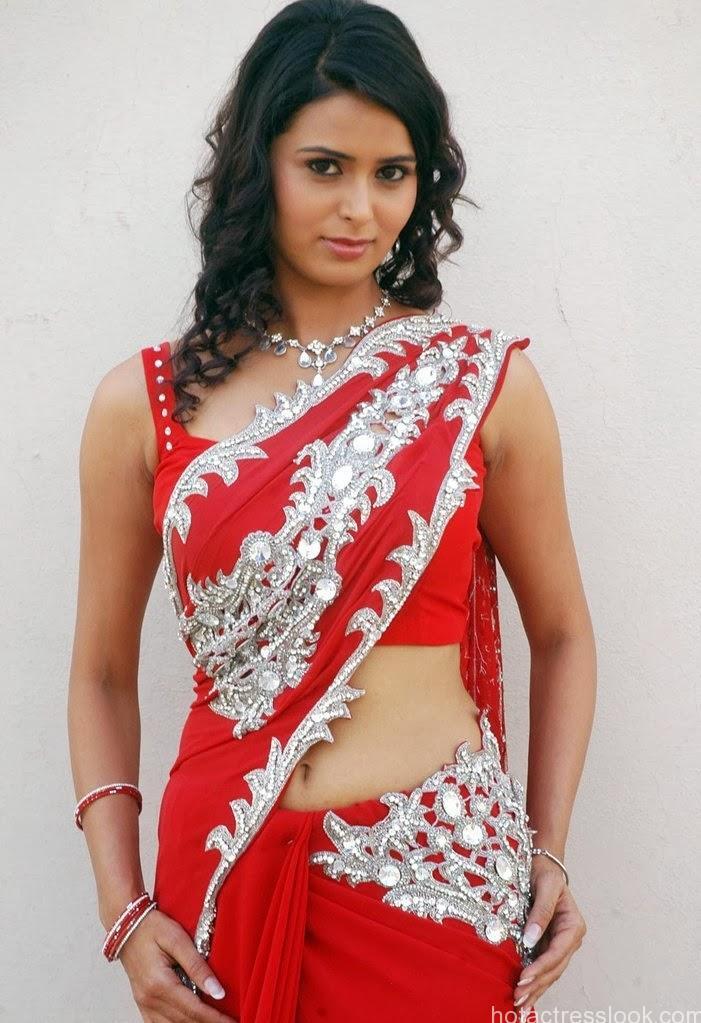 Meenakshi-Dixit-Hot-Photos-in-Red-bikini