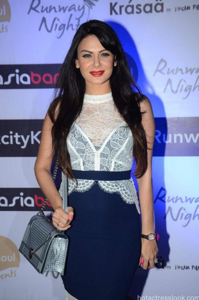 Mumbai: Actress Aanchal Kumar during the Runway Nights event in Mumbai, on July 24, 2015. (Photo: IANS)