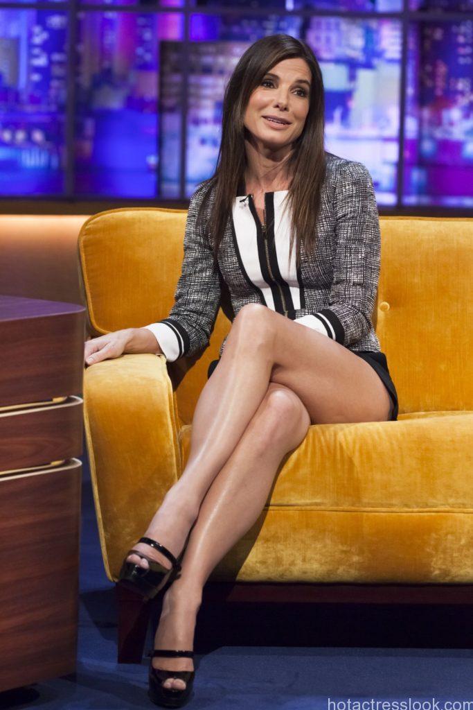 Sandra bullock hot legs