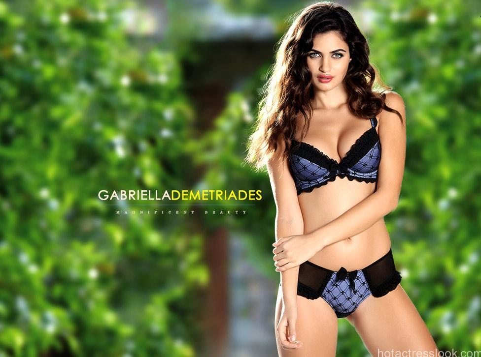 gabriella-demetriades hot lingerie
