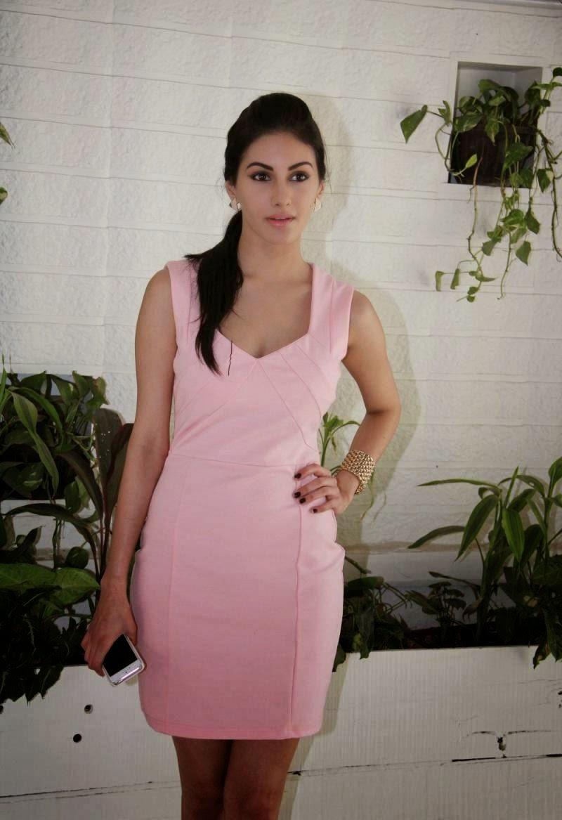 Amyra Dastur hot pics in saree