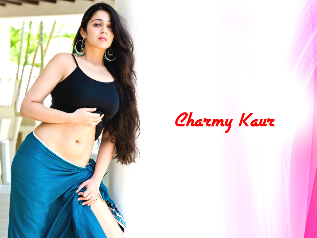 Charmi Kaur sexy wallpaper