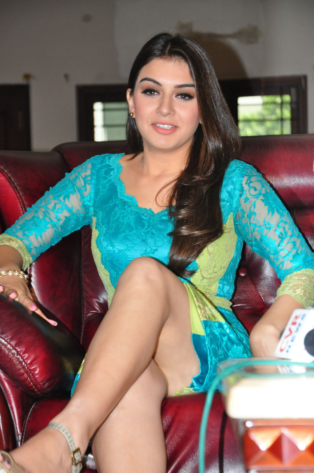 Hansika Motwani Hot photos in saree