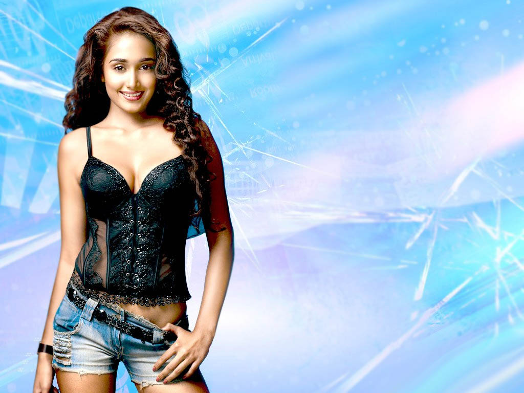 Jiah Khan hot wallpapers in bikini