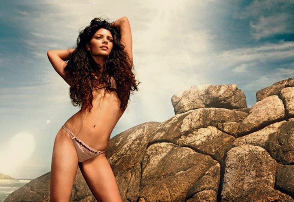 Saiyami Kher Hot topless photoshoot