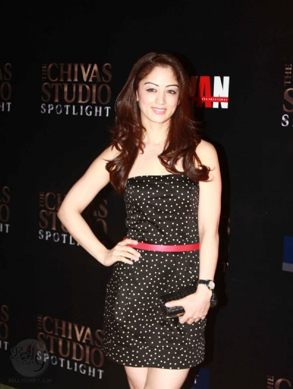Sandeepa Dhar grace The Chivas Studio spotlight party at Grand Hyatt Mumbai