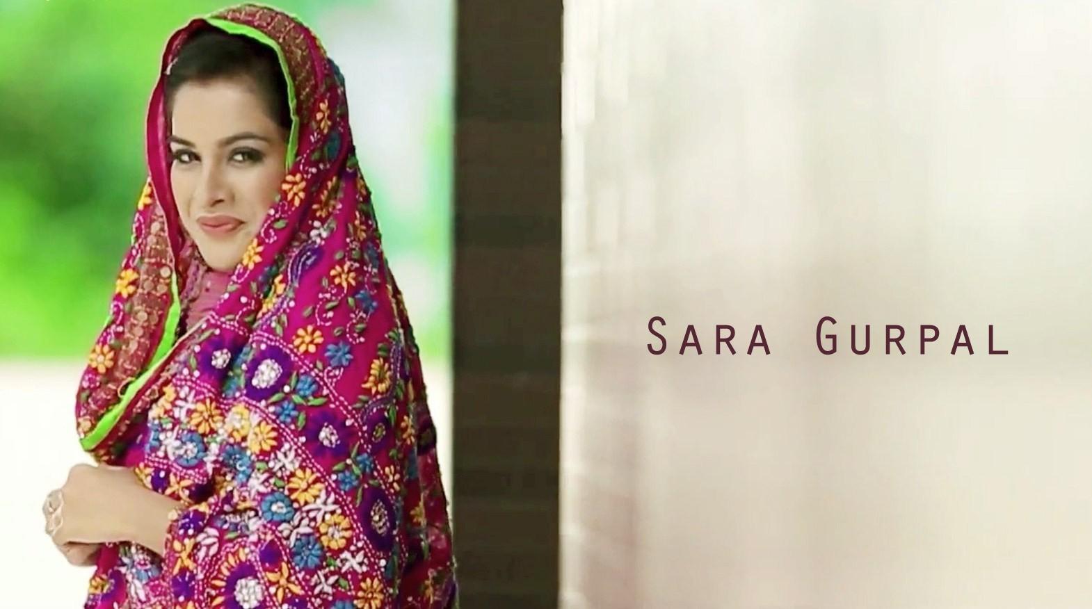Sara Gurpal Hot looking in suit