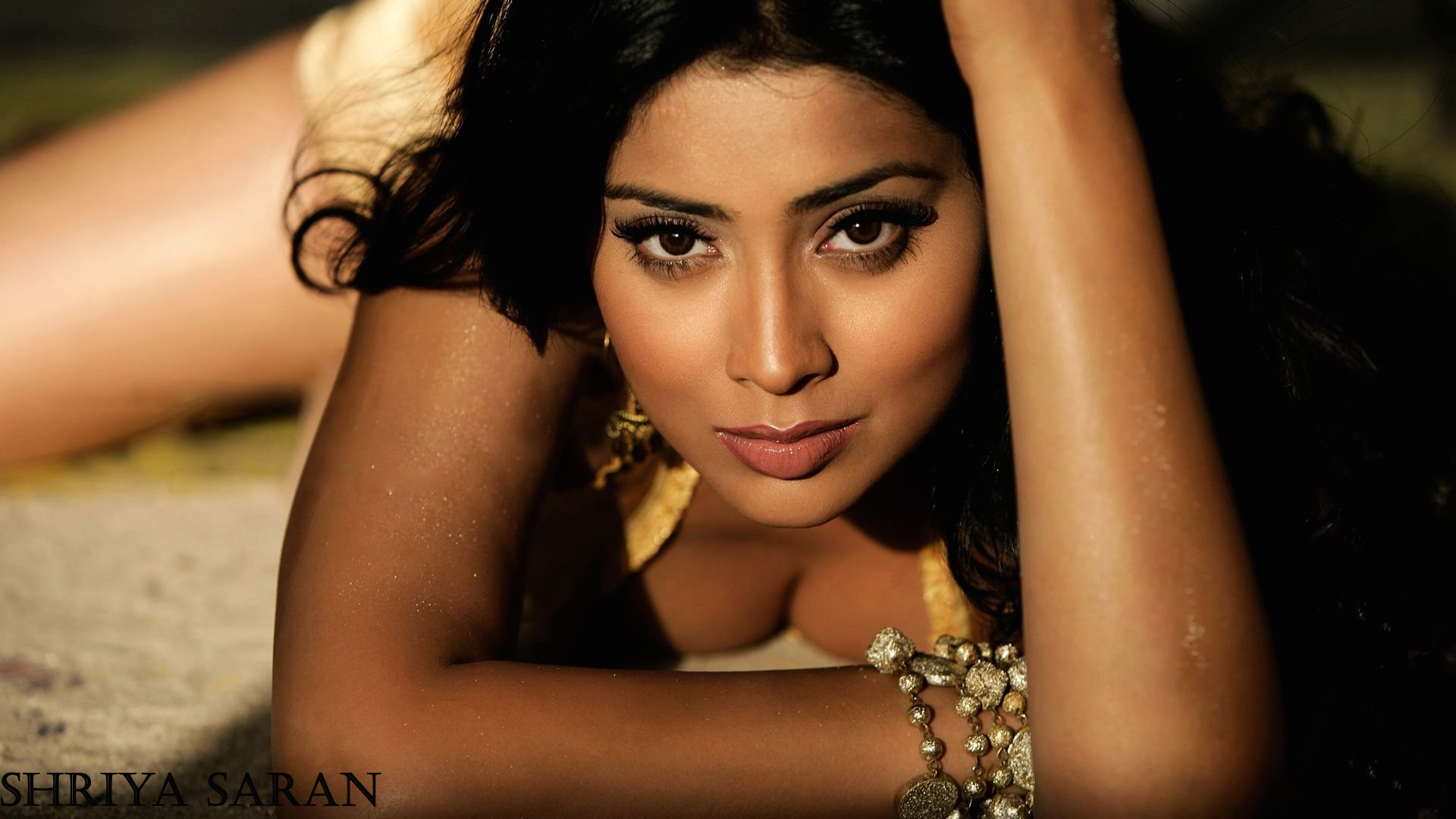 Shriya Saran Hot wallpapers in bikini