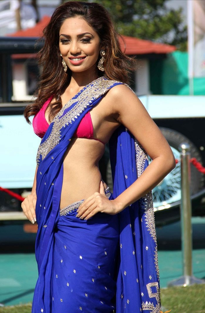 Sobhita Dhulipala hot in saree