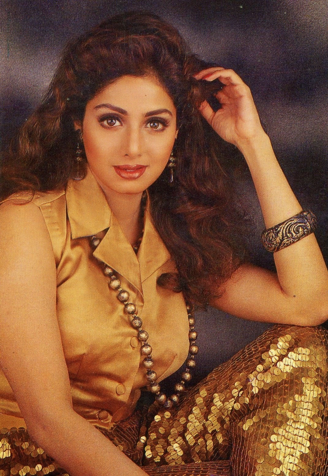 Sridevi Hot looking in shorts