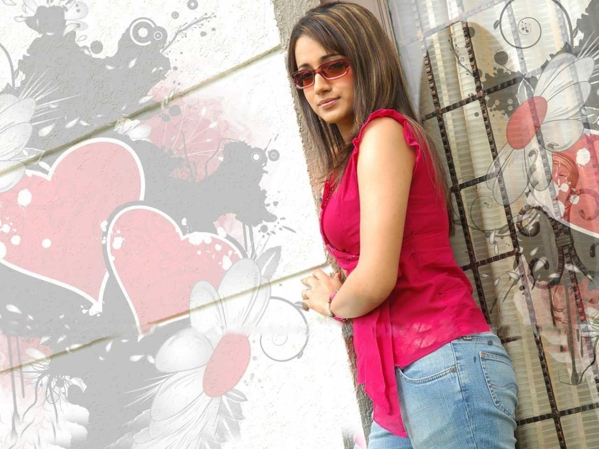 Trisha Krishnan Sexy wallpaper