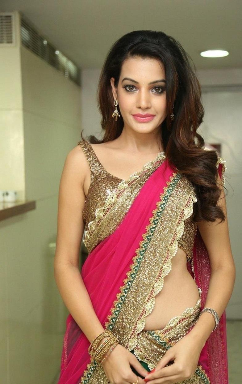 Actress Diksha Panth Hot Photos, Diksha Panth Half Saree Spicy Stills