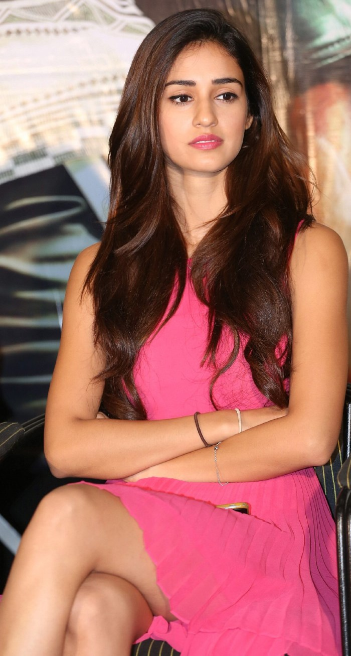 Telugu Actress Disha Patani Stills @ Loafer Success Meet