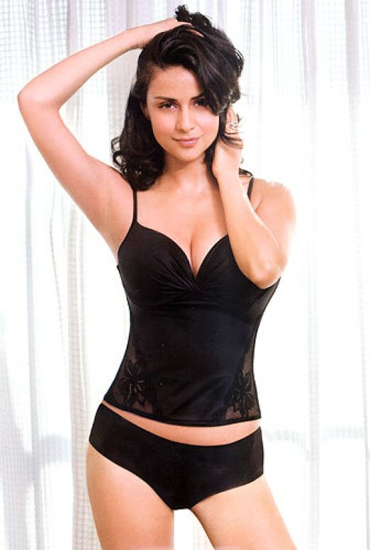 Gul Panag hot in lingerie