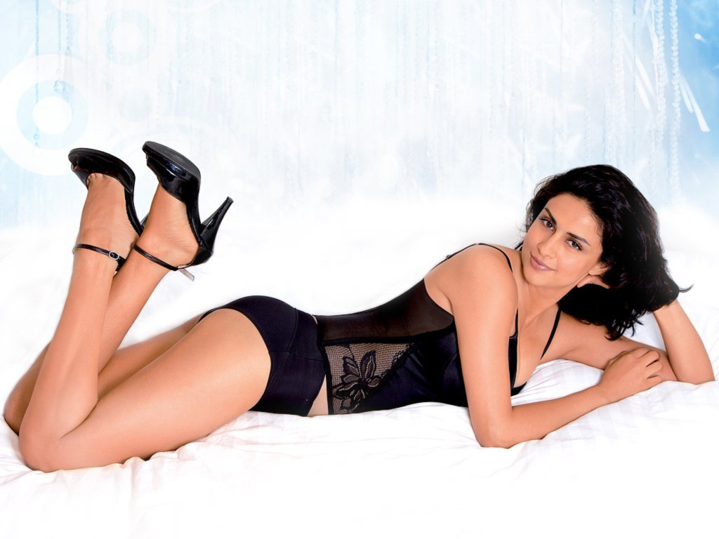Gul Panag hot topless photoshoot