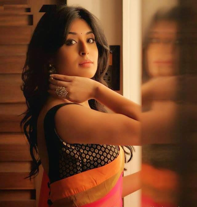 Kritika kamra hot in saree
