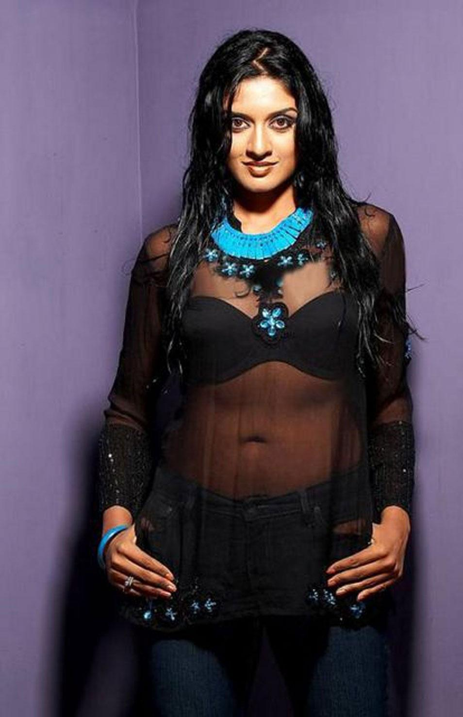 Vimala Raman hot in see though tops