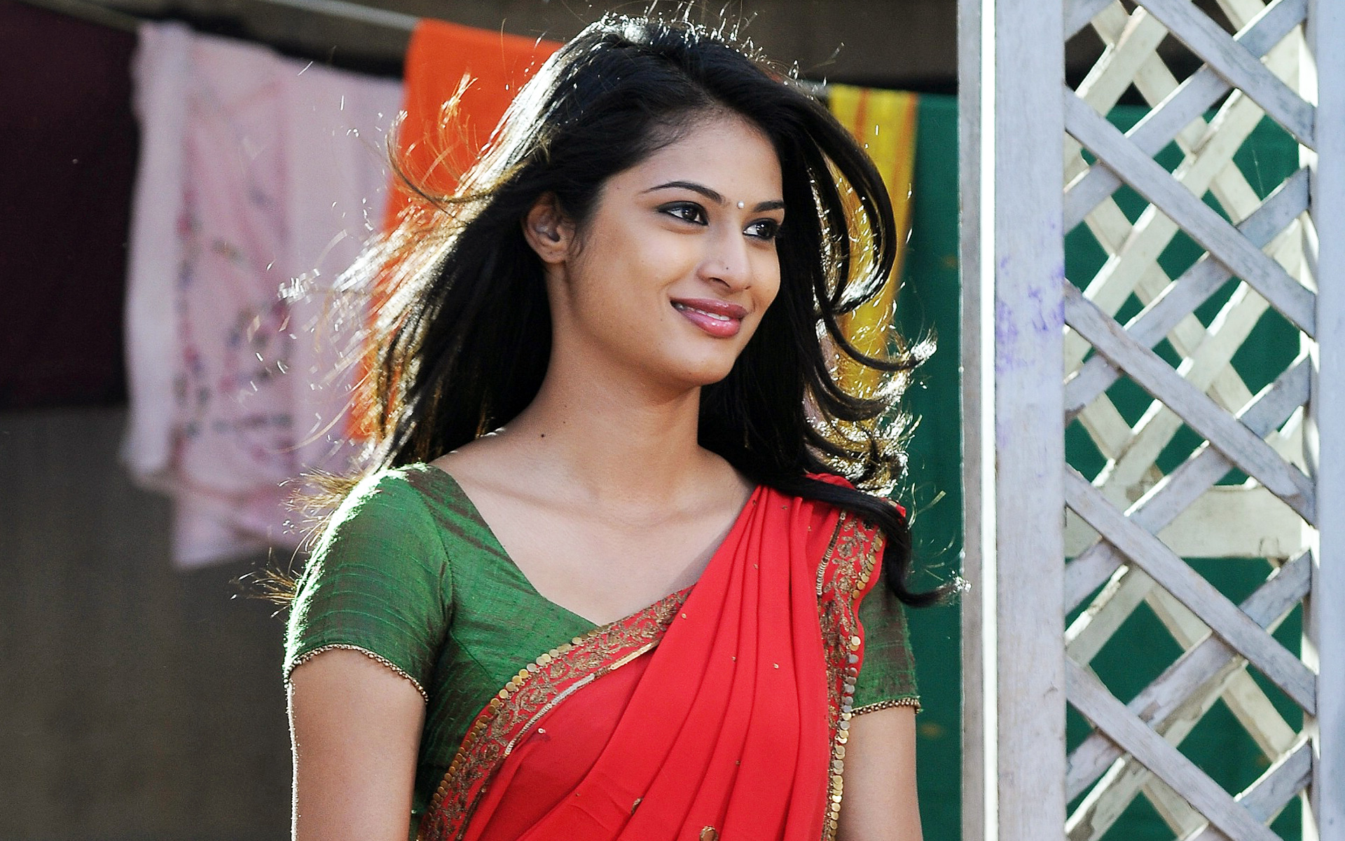 Zara Shah hot in saree
