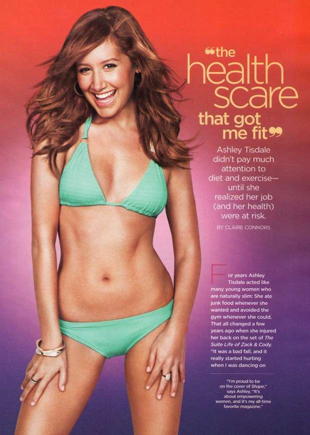 ashley tisdale hot health
