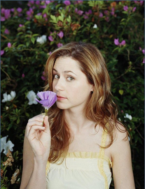 jenna fischer hot flower