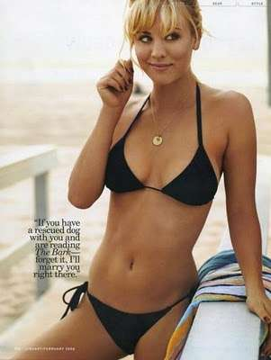 kaley cuoco hot bikini photos