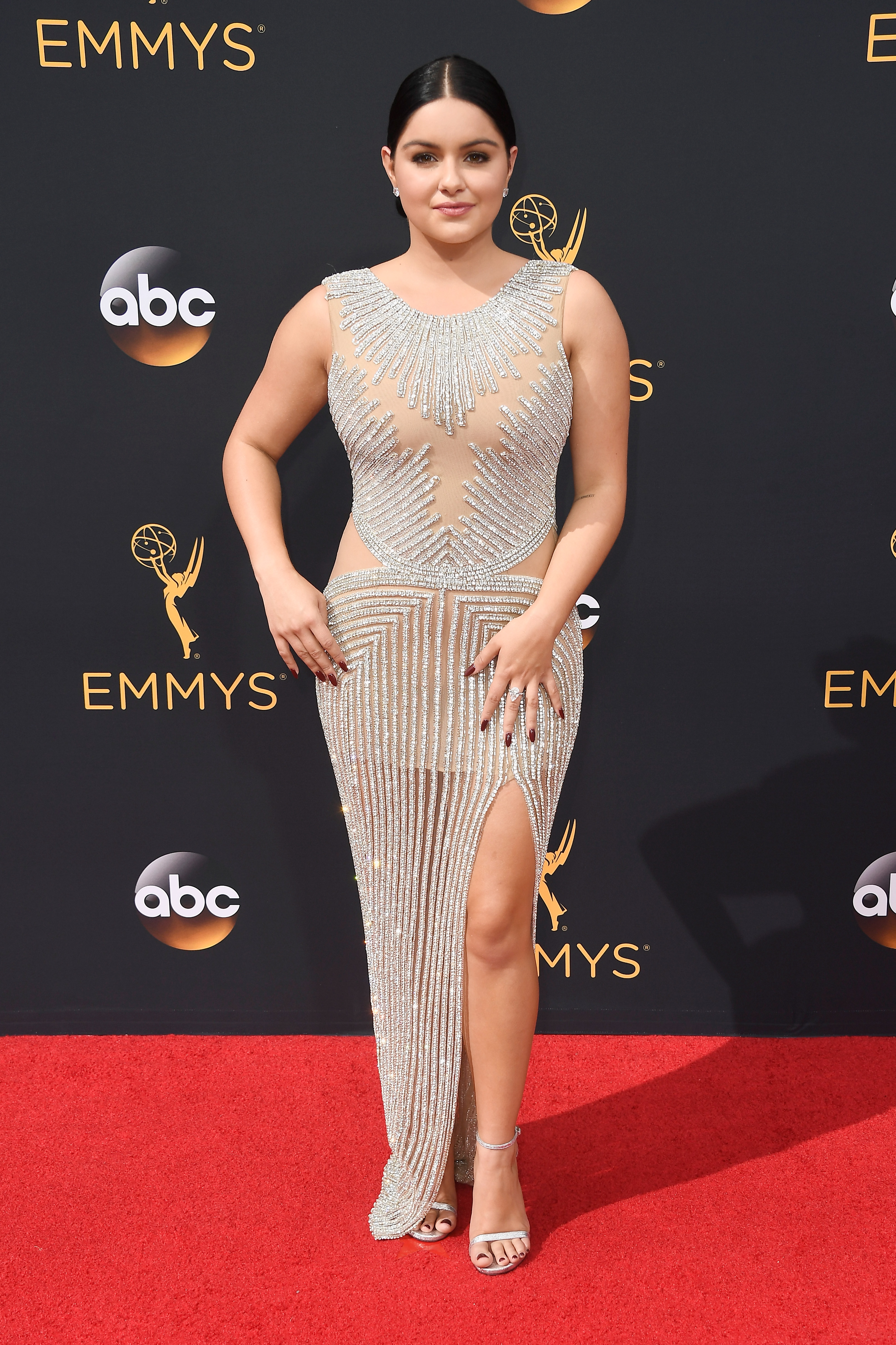 LOS ANGELES, CA - SEPTEMBER 18: Actress Ariel Winter attends the 68th Annual Primetime Emmy Awards at Microsoft Theater on September 18, 2016 in Los Angeles, California. (Photo by Frazer Harrison/Getty Images)