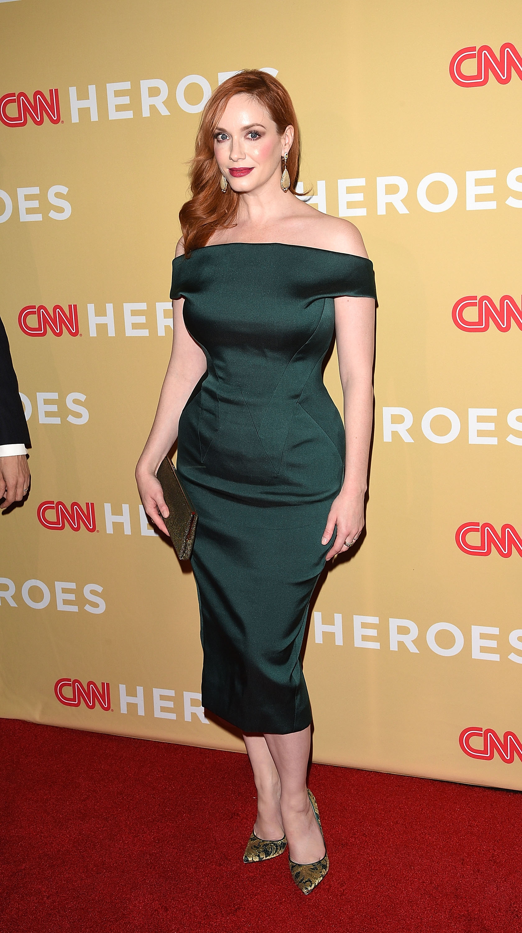 NEW YORK, NY - NOVEMBER 18: Actress Christina Hendricks attends the 2014 CNN Heroes: An All-Star Tribute at the American Museum of Natural History on November 18, 2014 in New York City. (Photo by Andrew H. Walker/Getty Images)