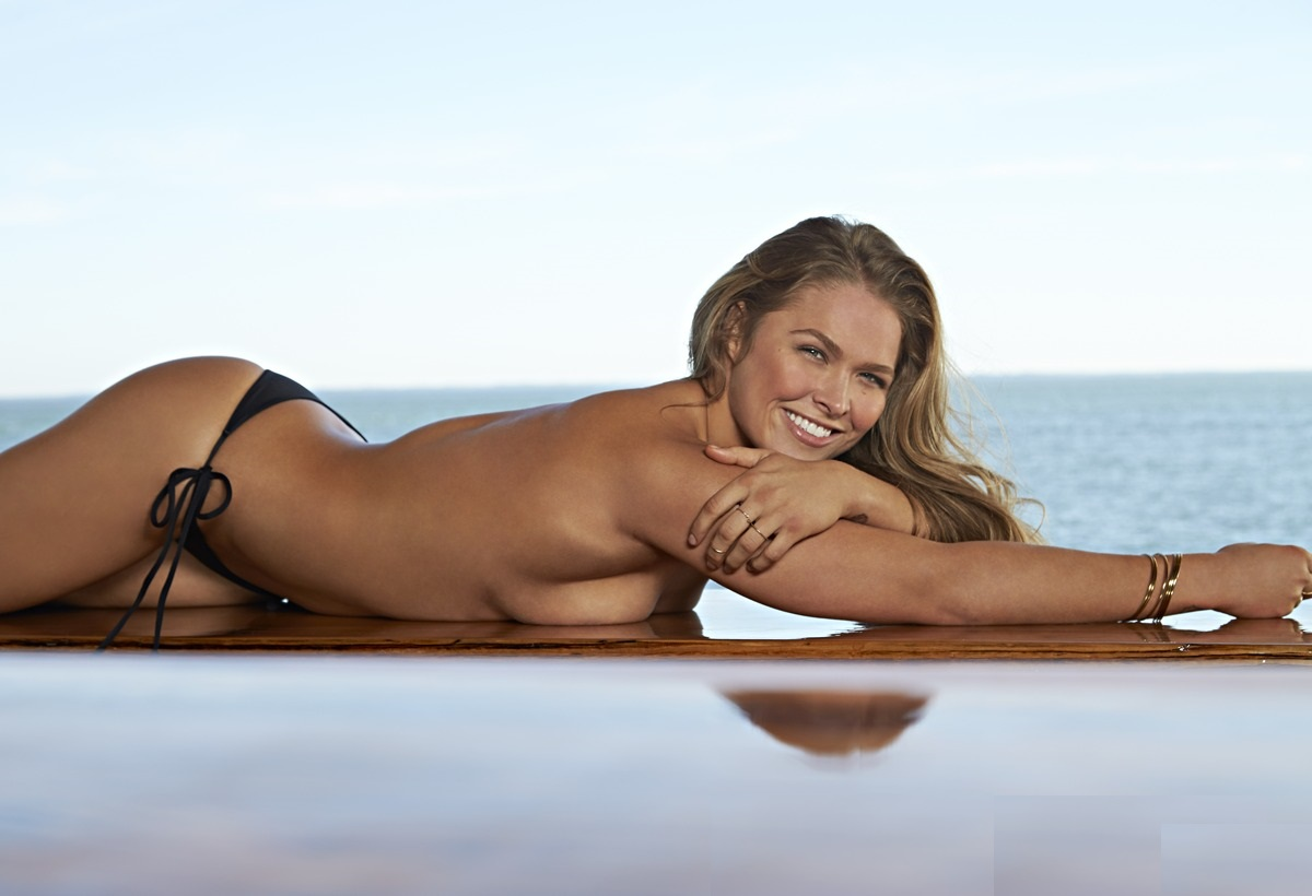 SI Swimsuit 2015 - Athletes Shoot Ronda Rousey South Seas Resort/Captiva Island, Florida, USA 11/11/2014 X158908 TK1 Credit: Walter Iooss Jr.