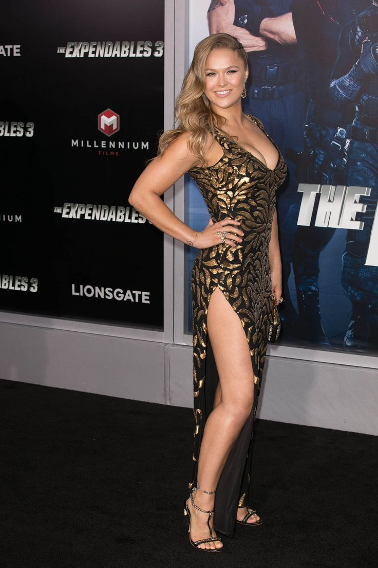 'The Expendables 3' Premiere held at the TCL Chinese Theatre - Arrivals Featuring: Ronda Rousey Where: Los Angeles, California, United States When: 11 Aug 2014 Credit: Brian To/WENN.com