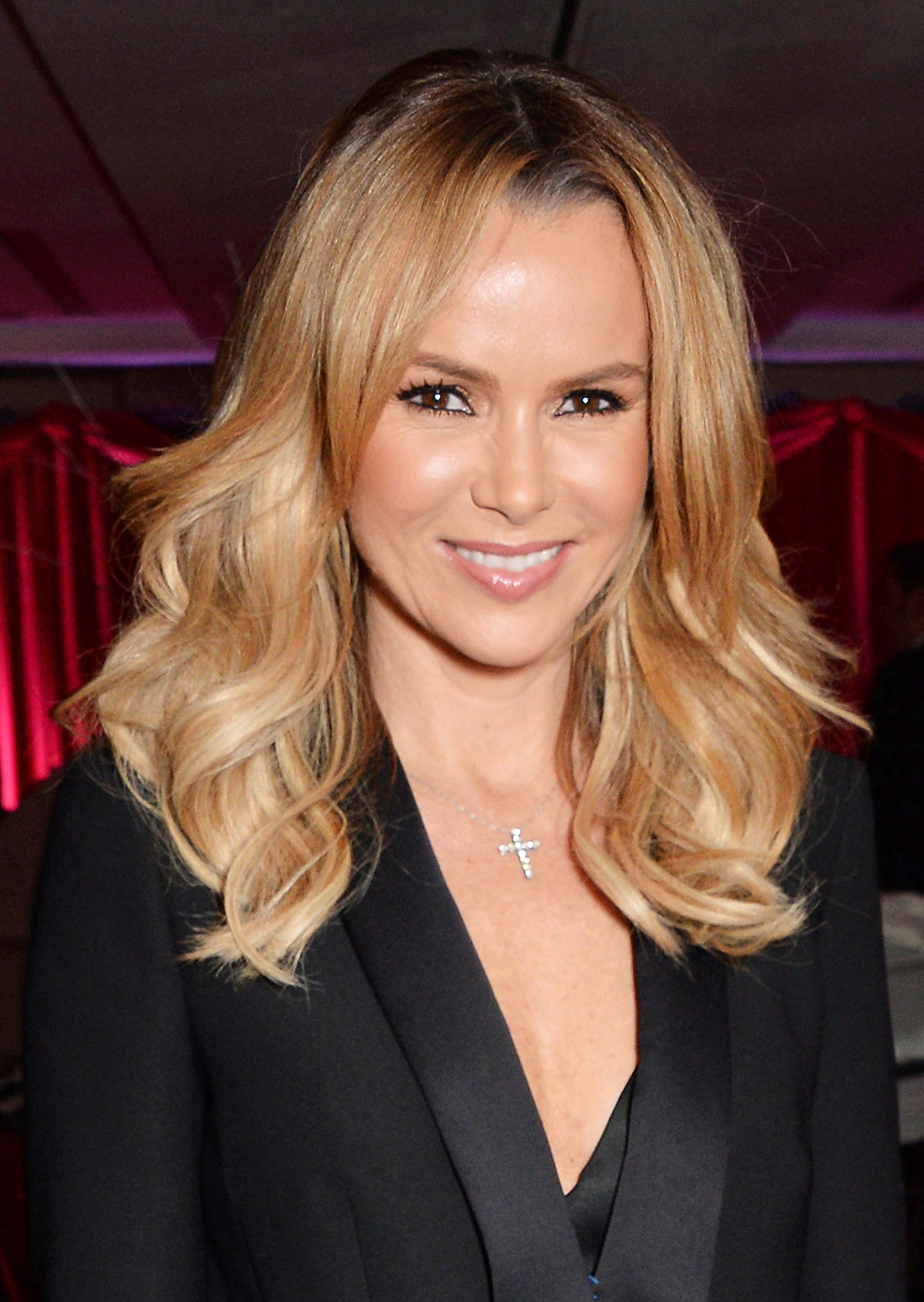 AMANDA HOLDEN at Odd Ball at London's Royal Garden Hotel