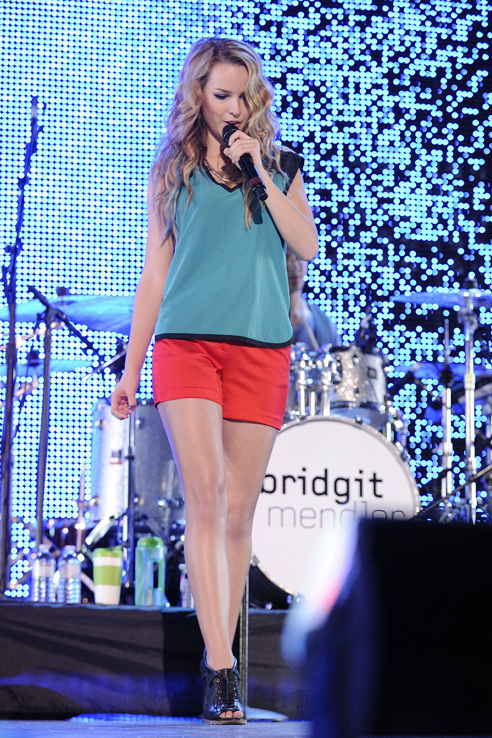 Bridgit Mendler performs at Molson Canadian Amphitheatre for the Family Channel's Big Ticket Summer Concert. Toronto, Canada - 26.08.12 Mandatory Credit:Dominic Chan/ WENN.com